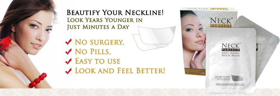 tightens loose wrinkled skin around your neck
